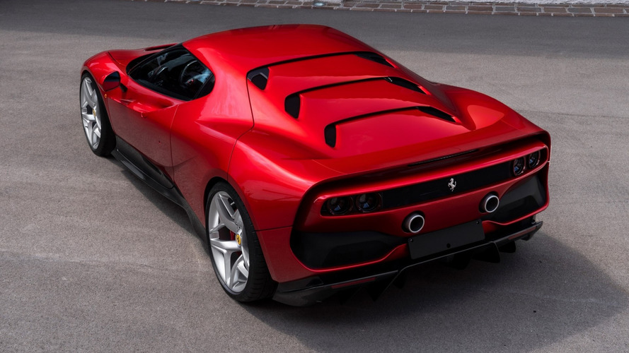 One-Off Ferrari SP38 Breaks Cover