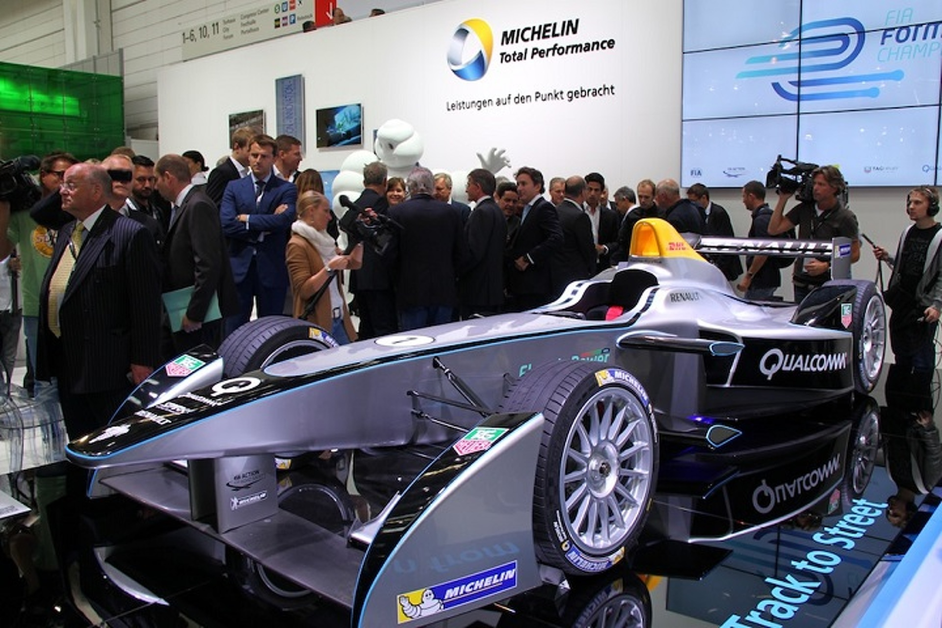 Formula E Electric Championship Now Has Motor Shows