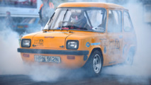Tiny British car from the 70s sets quarter-mile record