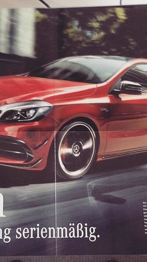 Possible Mercedes-Benz A45 AMG official image emerges along with up to 400 PS output