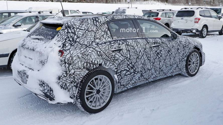 Mercedes A-Class Plug-In Hybrid Spied For The First Time