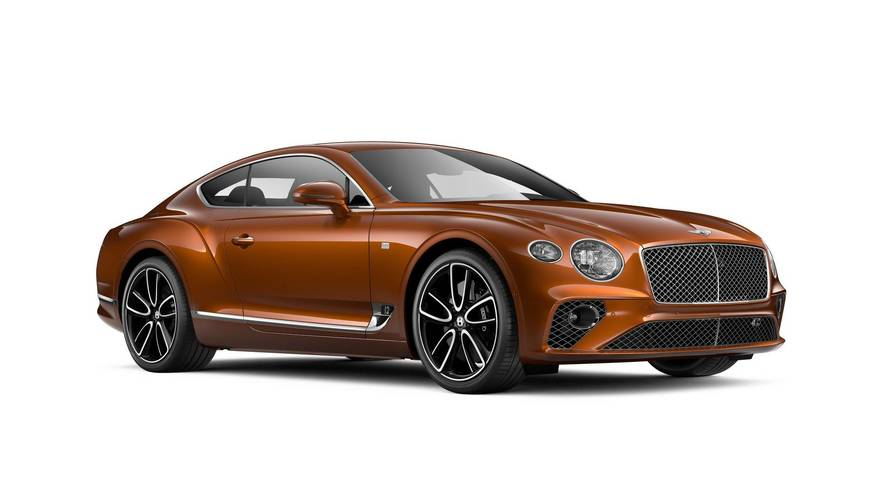 Bentley Continental GT First Edition Is A Tribute To Great Britain