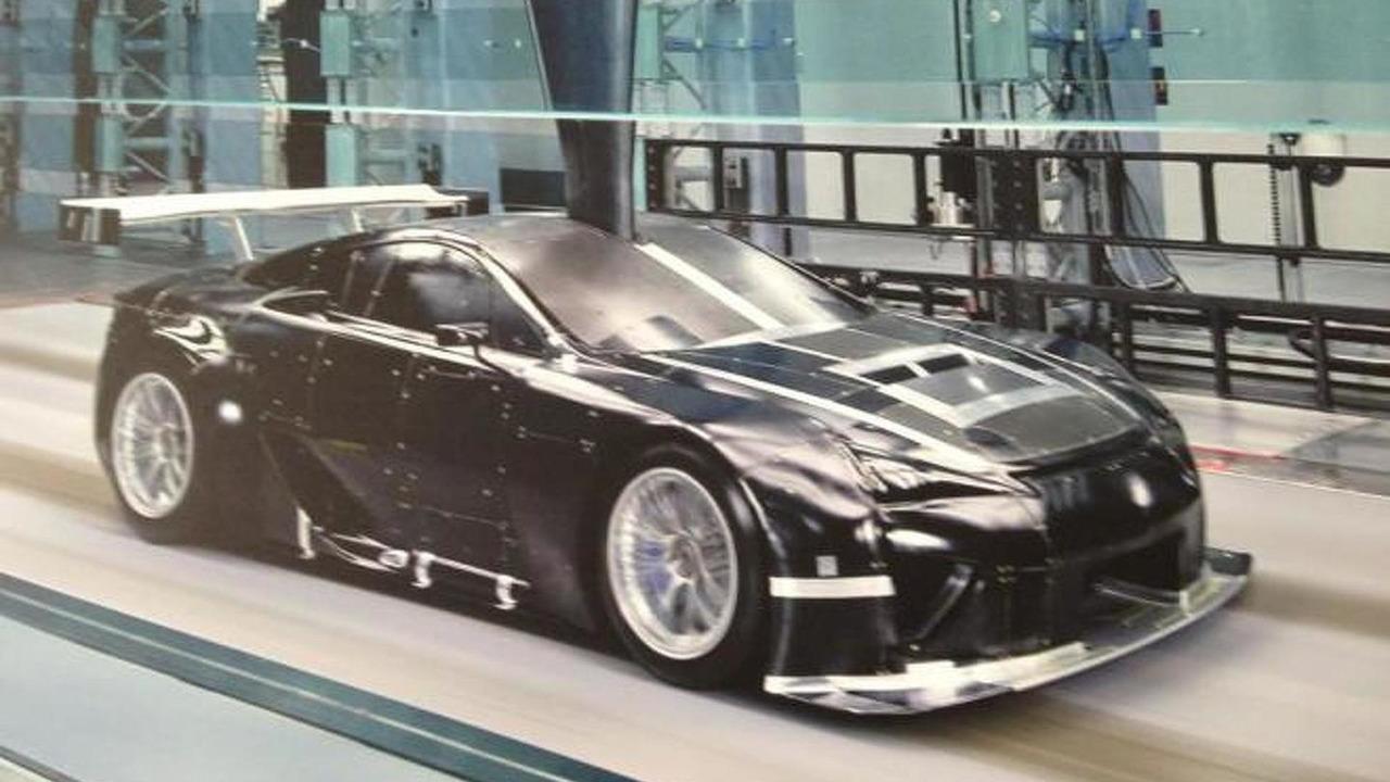 Lexus LFA racer