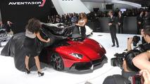 Lamborghini Aventador Jota Speedster live in Geneva 06.02.2012