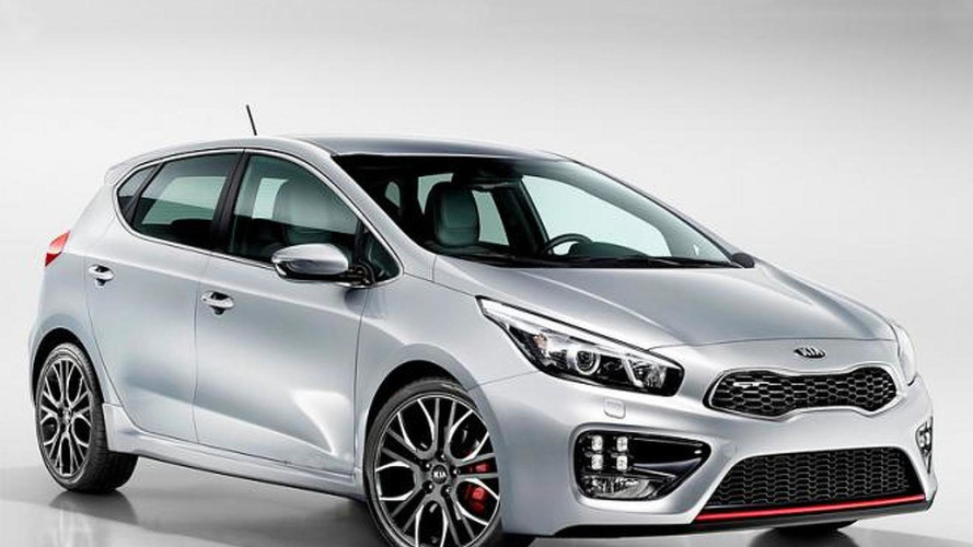 2013 Kia cee'd GT official photo leaked