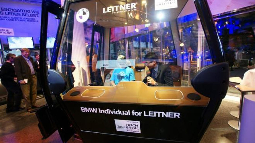 BMW & Leitner create a 7-Series inspired ski lift