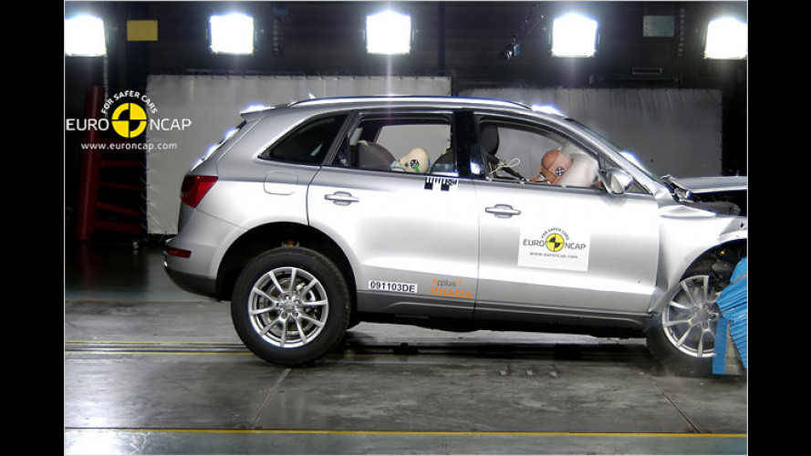 EuroNCAP-Crashtest: Nur Winzling Suzuki Alto enttäuscht