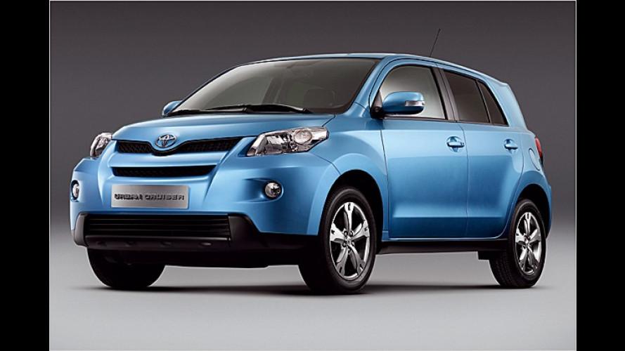 Toyota in Genf: Urban Cruiser und iQ als Serienfahrzeuge