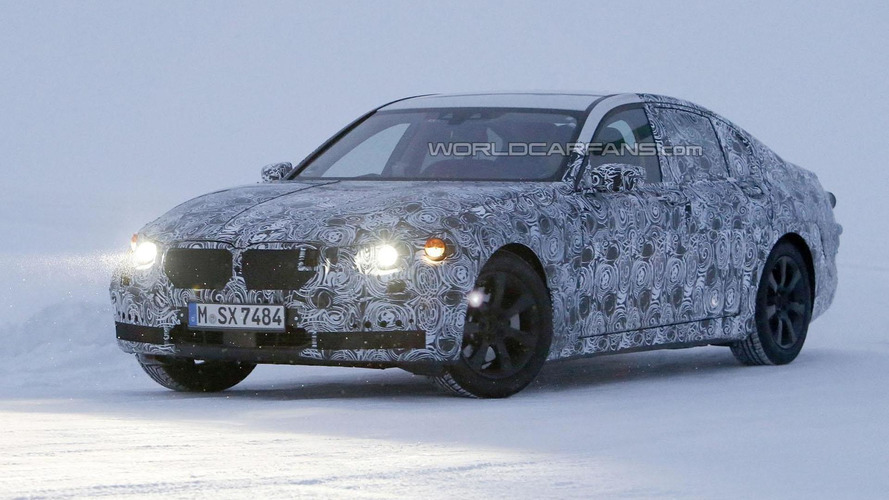 2015 BMW 7-Series returns in a new spy video