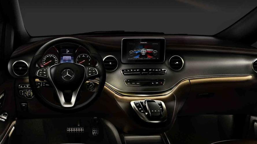2014 Mercedes-Benz V-Class confirmed for Thursday reveal