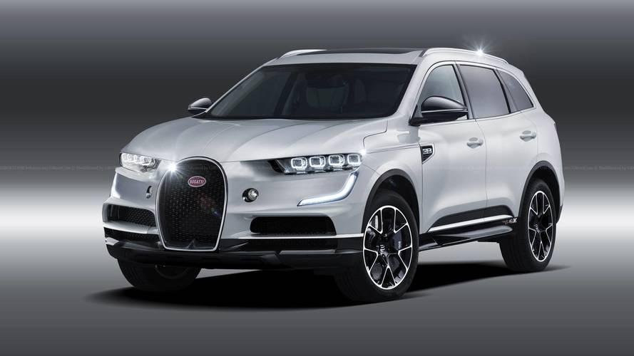 Bugatti'nin SUV'u böyle görünebilir