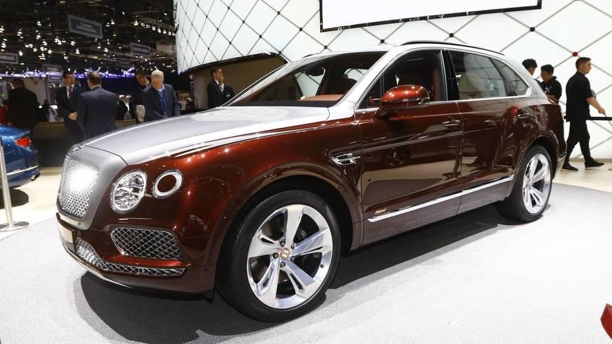 Genève 2018 - Le Bentley Bentayga hybride entre en scène