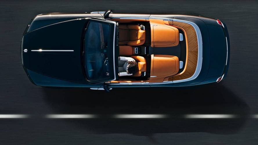 Rolls-Royce Dawn Aero Cowling