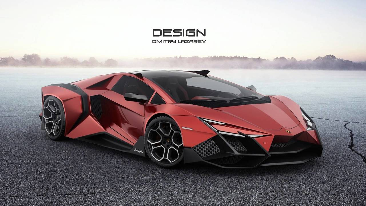 lamborghini forsennato hypercar is edgy even by italian. Black Bedroom Furniture Sets. Home Design Ideas