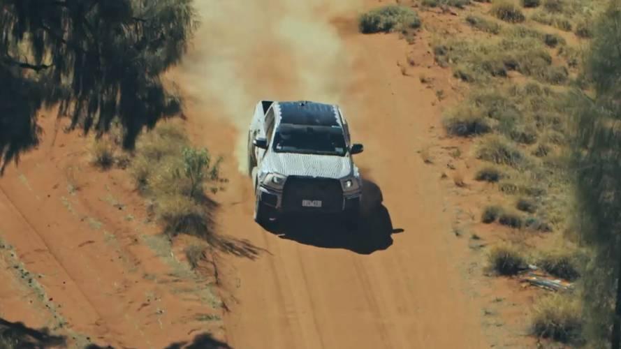 Ford Ranger Raptor'un teaser'ı yayınlandı