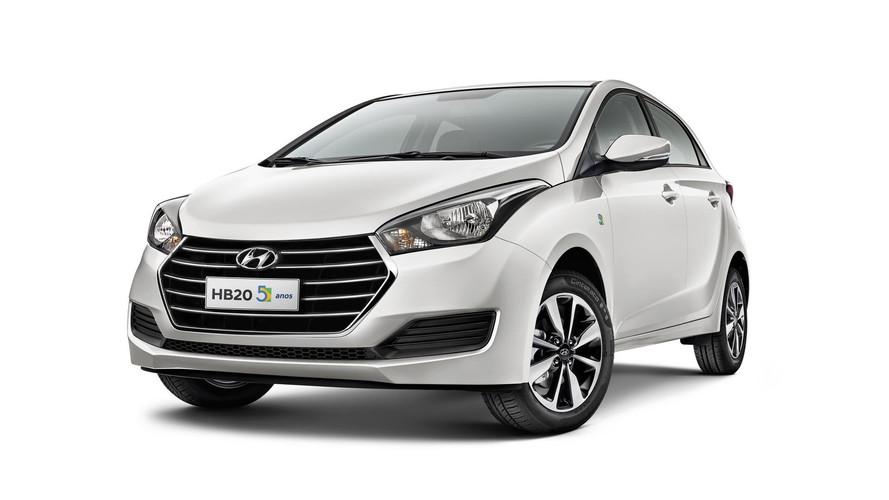 Hyundai inicia vendas da série especial HB20 5 anos