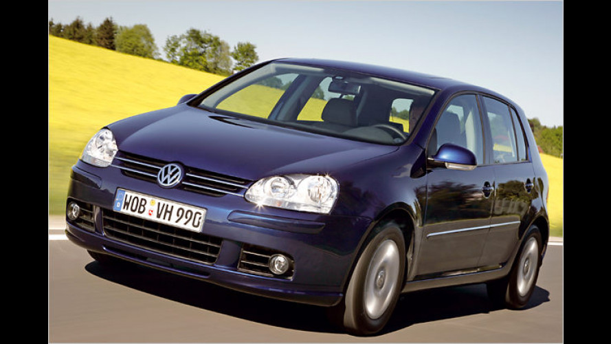 VW Golf erhält ein vom TÜV zertifiziertes Umweltprädikat