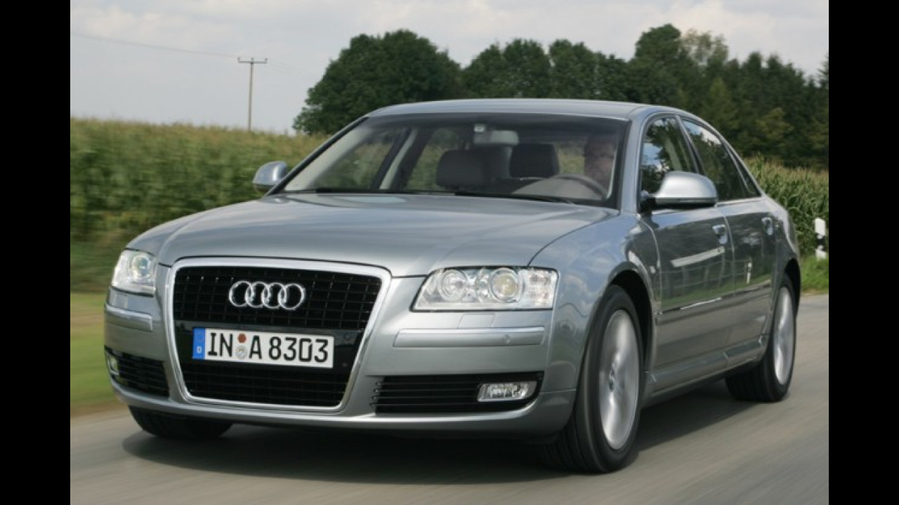Audi A8 4.2 TDI quattro tiptronic DPF