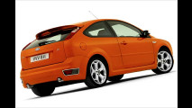 Orangener Orkan