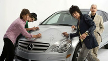 Mercedes USA to Auction Rolling Stones R-Class for Charity