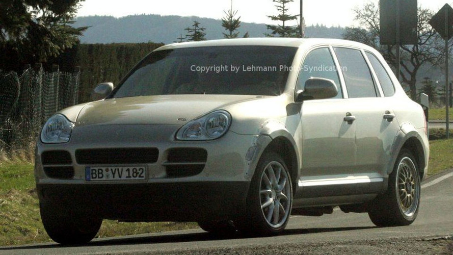 First Porsche Panamera Spy Photos