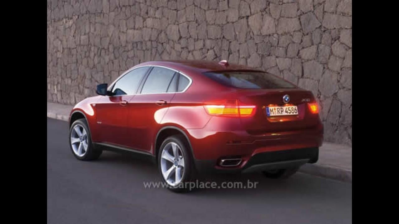 Salão de Detroit 2008: Veja o vídeo do novo BMW X6 Sports Activity Coupé
