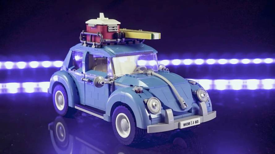 Watch This Lego VW Beetle Come To Life In This Mesmerizing Video