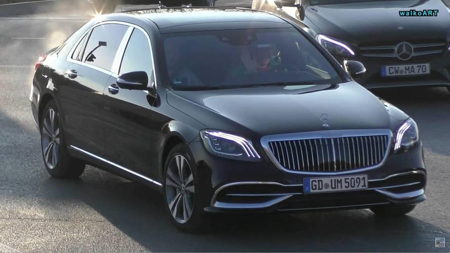 2018 Mercedes-Maybach S-Serisi Trafikte