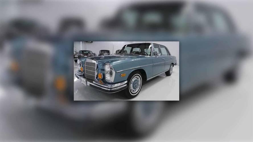 A la venta un Mercedes-Benz 280SEL, que perteneció a Elvis Presley