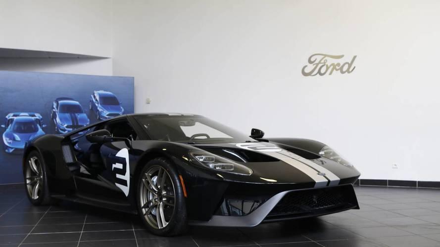 Ford GT Anthony Beltoise