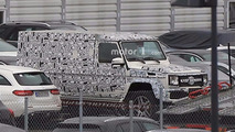 Mercedes-Benz G-Class long-wheelbase spy