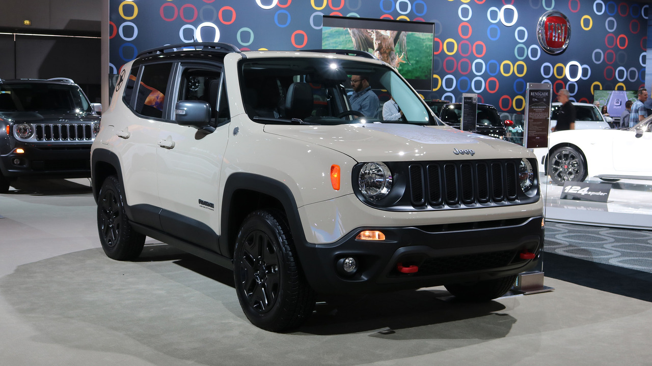 Jeep Renegade Desert Hawk >> Jeep Renegade's Refreshed Body Spied Up Close