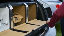 Tailgating in a 2017 Bentley Bentayga