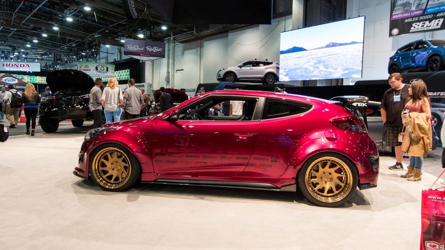 Hyundai's record-setting Ioniq surprises at SEMA