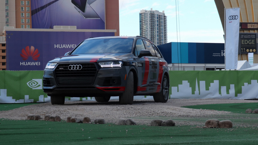 Audi and Nvidia reveal Q7 self-driving AI concept at CES