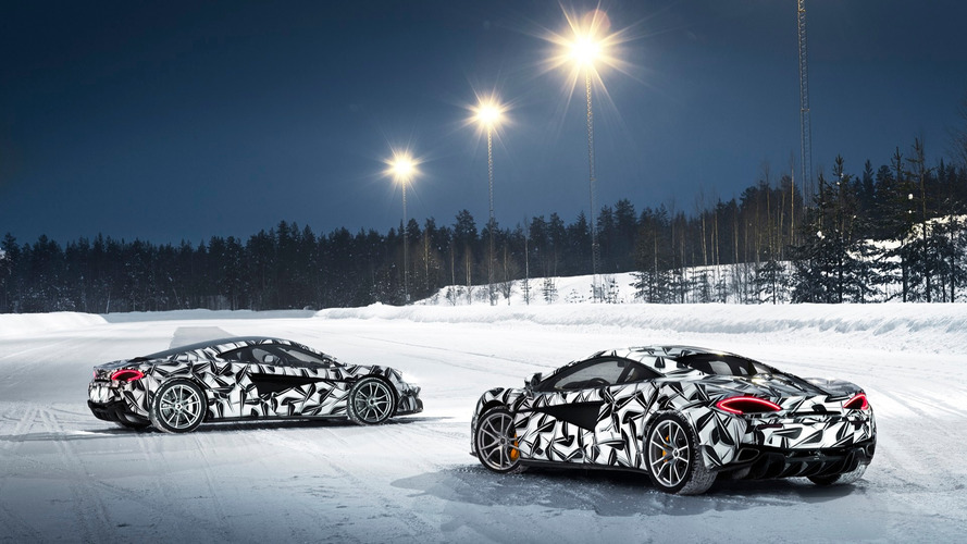McLaren heads to Finland for new ice driving experience