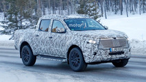 Mercedes X-Class Spy Photos