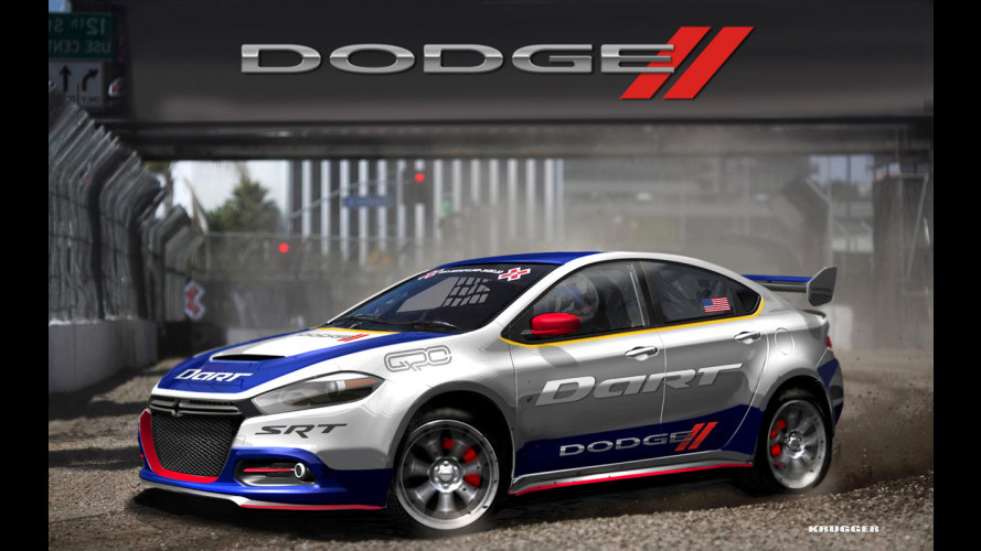 Dodge Dart, nei rallycross la