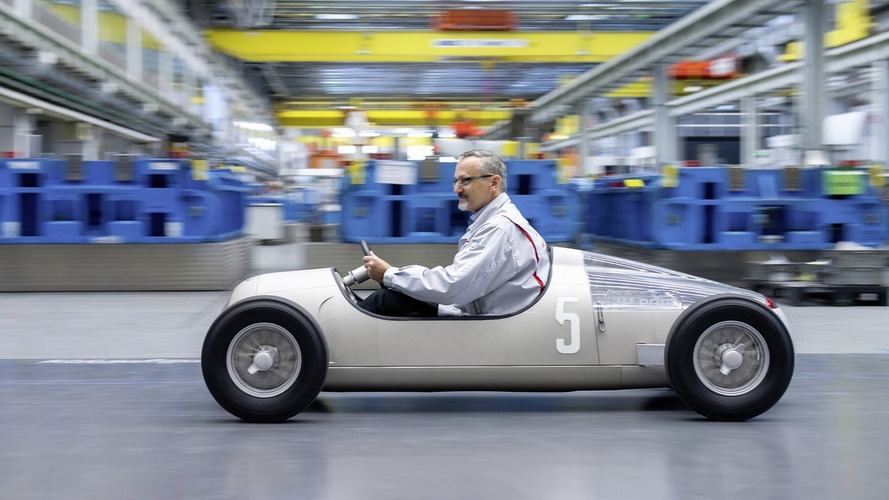 Audi uses 3D printer to create 1936 Auto Union Typ C on 1:2 scale