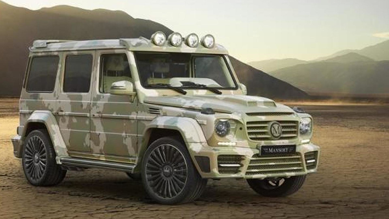 Mercedes-Benz G63 AMG Sahara Edition by Mansory