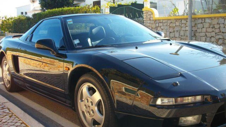 Ayrton Senna's Honda NSX available on eBay