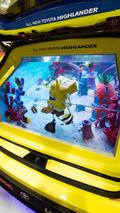 Toyota SpongeBob Highlander Tanked Edition at SEMA 05.11.2013