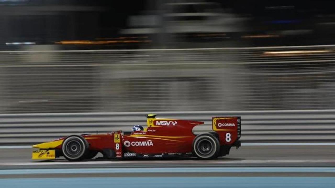 Jolyon Palmer Post-Season Testing Abu Dhabi 06.11.2013 Racing Engineering