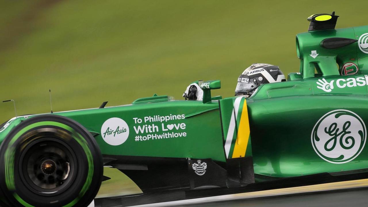Giedo van der Garde 22.11.2013 Brazilian Grand Prix