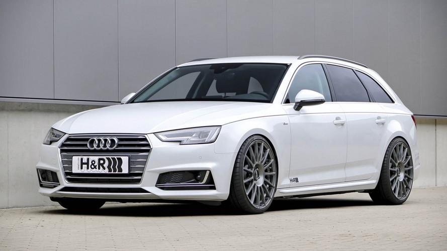 Höhenverstellbarer Audi A4