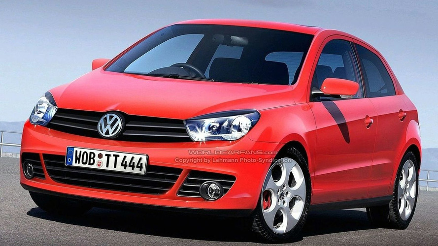 Volkswagen Small Car Platform to get AWD