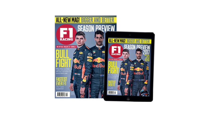 Motorsport Network upgrades a new and improved F1 Racing Magazine