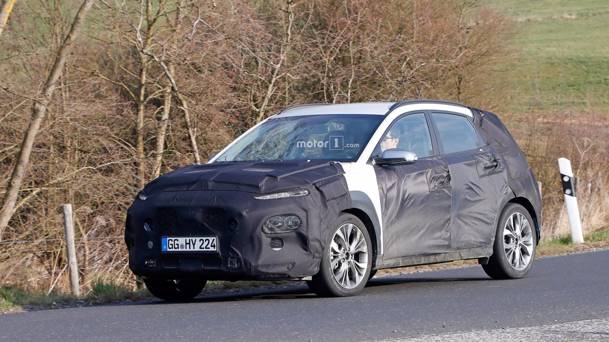 Hyundai Kona Spied Far From Hawaii on European Roads