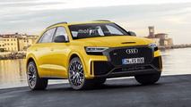 Audi Q8 and RS Q8 renders