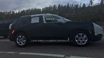 Chevy Mystery CUV Testing
